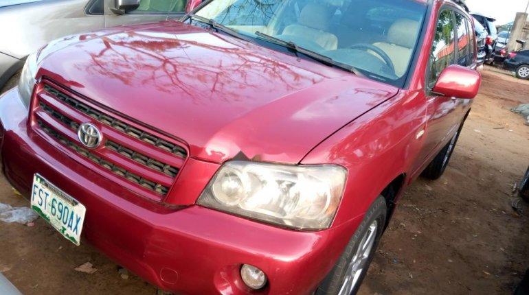 Naija Used 2003 Toyota Highlander for sale-0