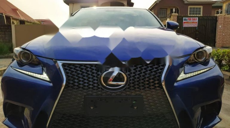 Foreign Used 2016 Blue Lexus IS for sale in Lagos. -4