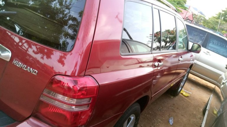 Naija Used 2003 Toyota Highlander for sale-3