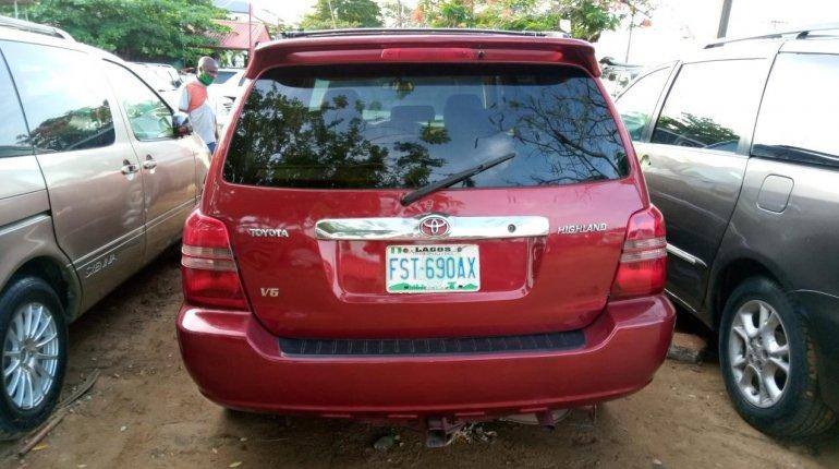 Naija Used 2003 Toyota Highlander for sale-1