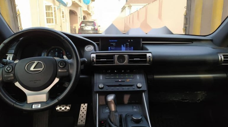 Foreign Used 2016 Blue Lexus IS for sale in Lagos. -2