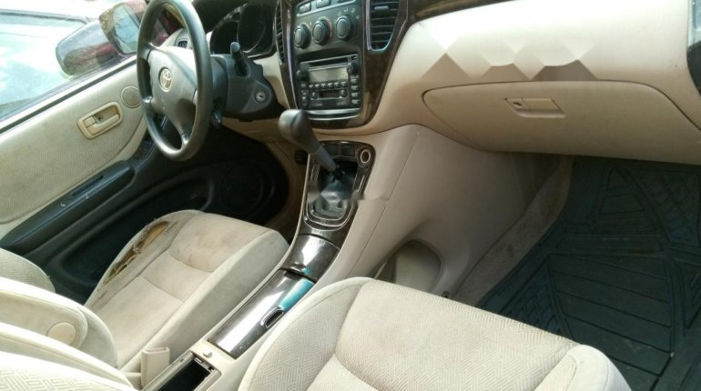 Naija Used 2003 Toyota Highlander for sale-9