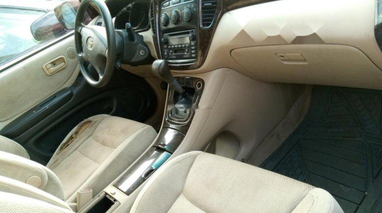 Naija Used 2003 Toyota Highlander for sale-4