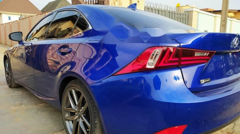 Foreign Used 2016 Blue Lexus IS for sale in Lagos. -5