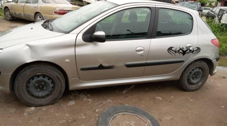 Foreign Used 2002 Grey Peugeot 206 for sale in Lagos. -4