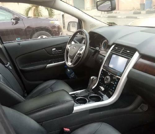 Foreign Used Ford Edge 2012 Model Gold -3