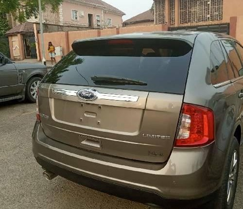 Foreign Used Ford Edge 2012 Model Gold -1
