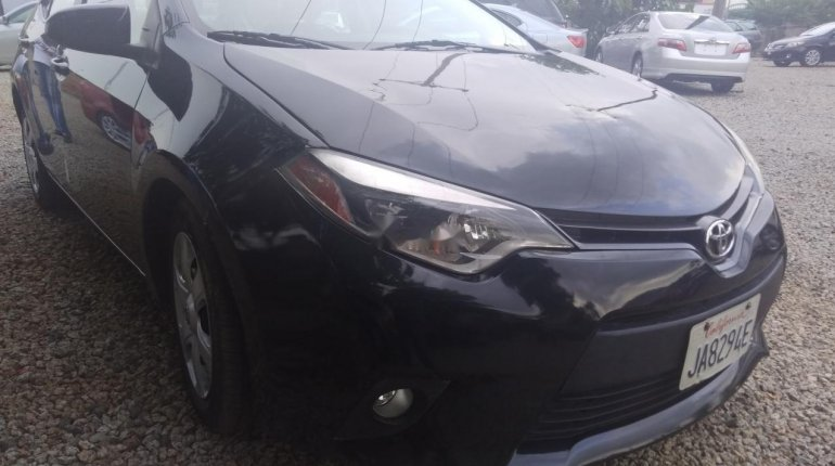 Foreign Used Toyota Corolla 2016 Model Black-0
