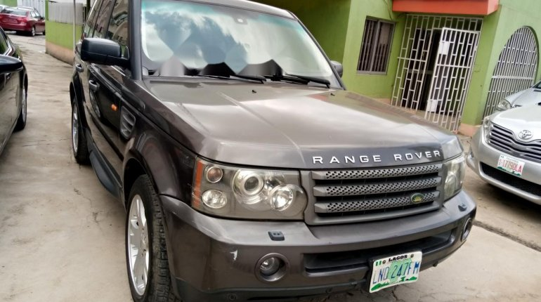 Nigeria Used Land Rover Range Rover 2006 Model Gray-3