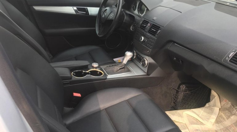 Foreign Used Mercedes-Benz C300 2010 Model Silver-4