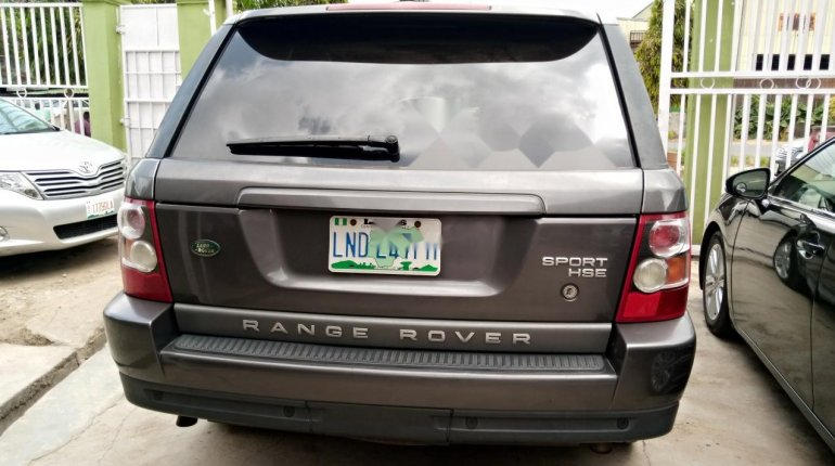 Nigeria Used Land Rover Range Rover 2006 Model Gray-1