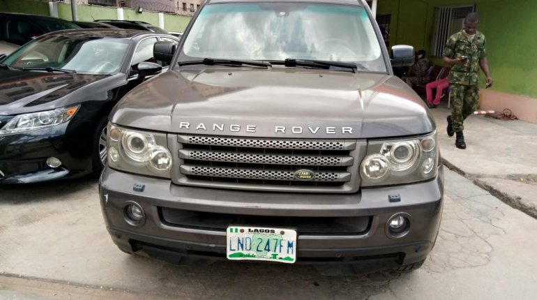 Nigeria Used Land Rover Range Rover 2006 Model Gray-0