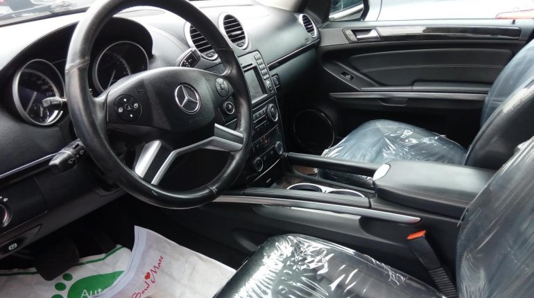 Foreign Used Mercedes-Benz GL-Class 2011 Model Black-2