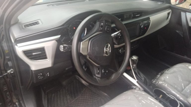 Foreign Used Toyota Corolla 2016 Model Black-4