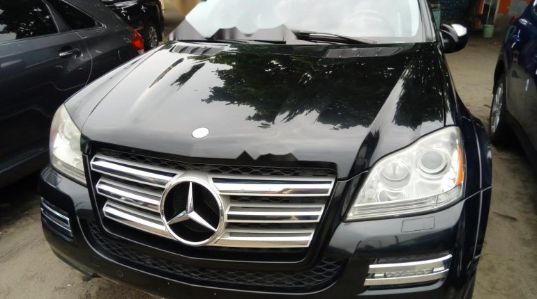 Foreign Used Mercedes-Benz GL-Class 2011 Model Black-0