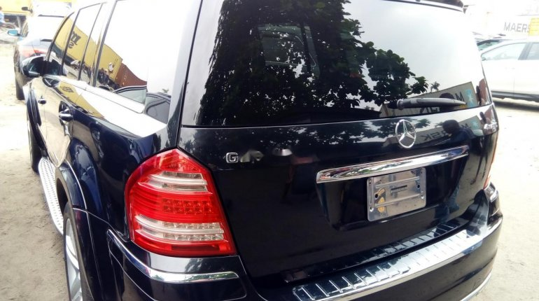 Foreign Used Mercedes-Benz GL-Class 2011 Model Black-5