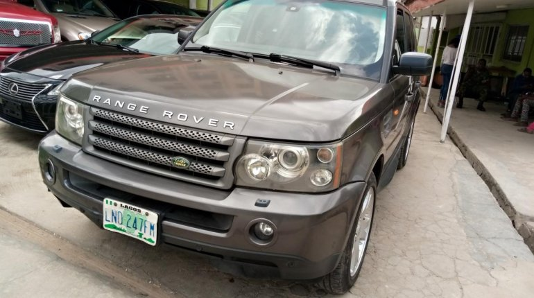 Nigeria Used Land Rover Range Rover 2006 Model Gray-2