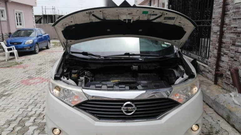 Foreign Used Nissan Quest 2013 Model White-5