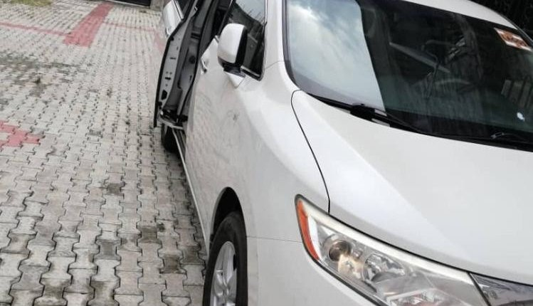 Foreign Used Nissan Quest 2013 Model White-7