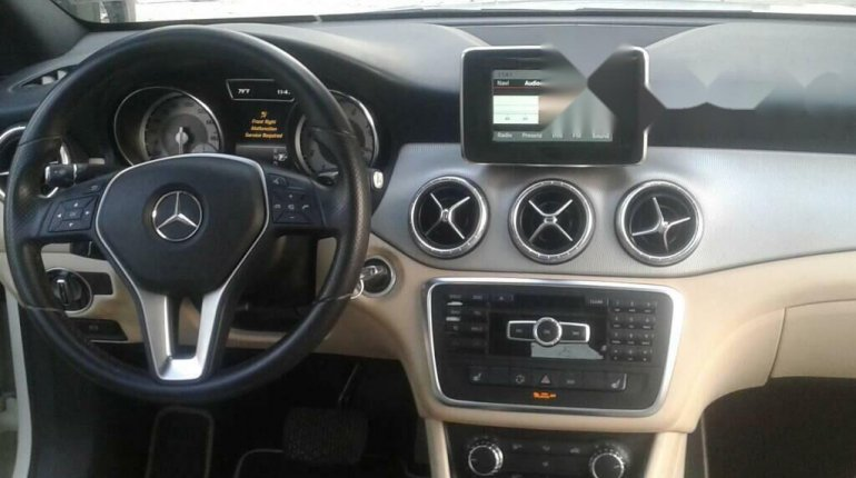 Foreign Used Mercedes-Benz CLA-Class 2014 Model White-2