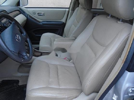 Foreign Used Toyota Highlander 2003 Model Silver-5