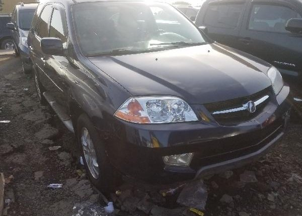 Foreign Used Acura MDX 2006 Model Blue -0