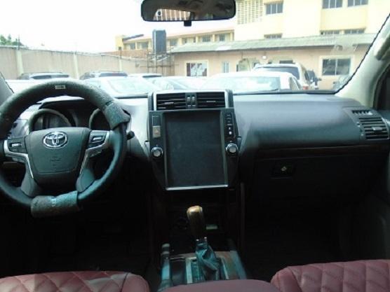 Nigeria Used Toyota Land Cruiser Prado 2010 Model Black-3
