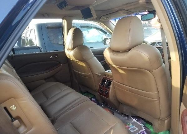 Foreign Used Acura MDX 2006 Model Blue -4