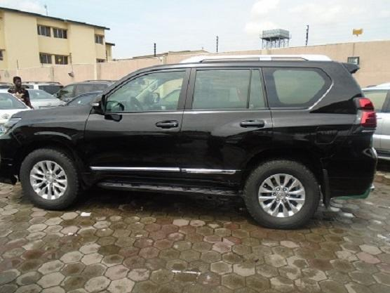 Nigeria Used Toyota Land Cruiser Prado 2010 Model Black-5