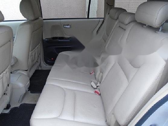 Foreign Used Toyota Highlander 2003 Model Silver-3