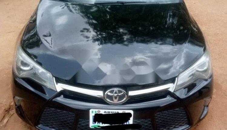 Nigeria Used Toyota Camry 2016 Model Black-0
