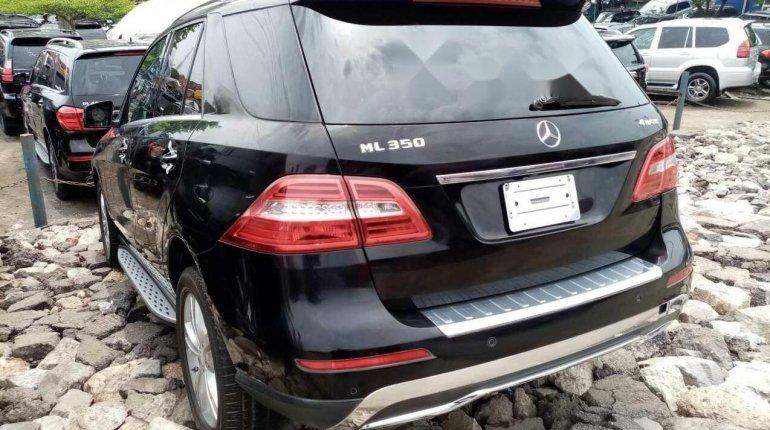 Tokunbo Mercedes-Benz ML350 2013 Model Black-7