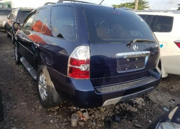 Foreign Used Acura MDX 2006 Model Blue -3