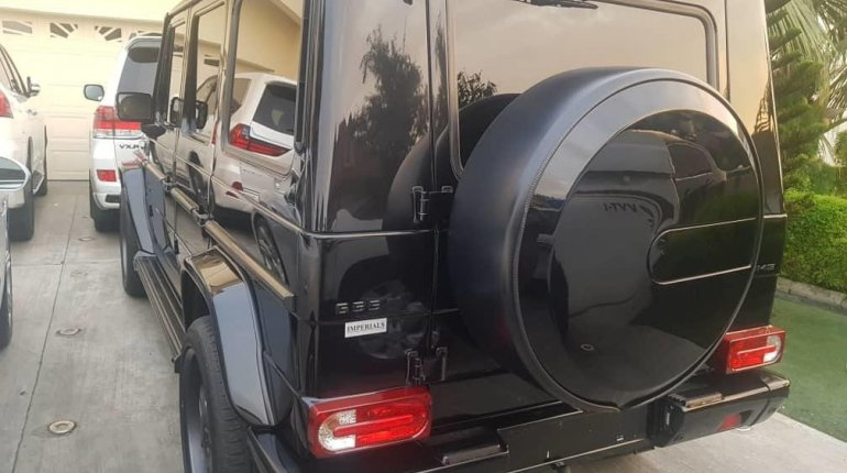 Foreign Used Mercedes-Benz G550 2012 Model Black-5