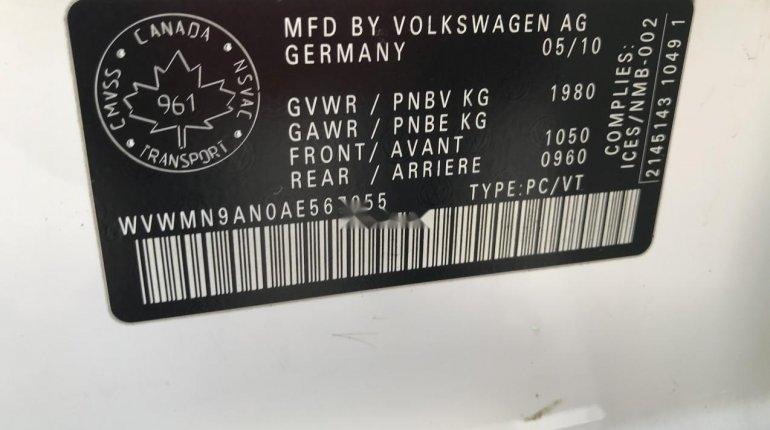 Nigeria Used Volkswagen Passat 2010 Model White-1
