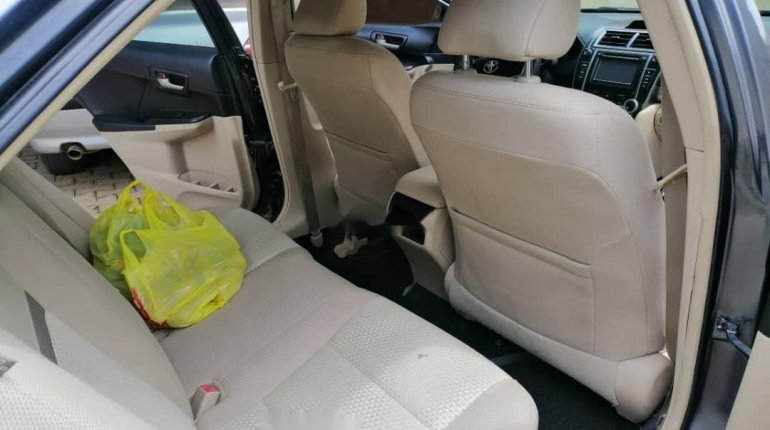 Nigeria Used Toyota Camry 2013 Model Gray-5
