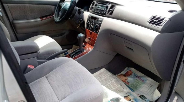 Foreign Used Toyota Corolla 2006 Model Silver-1
