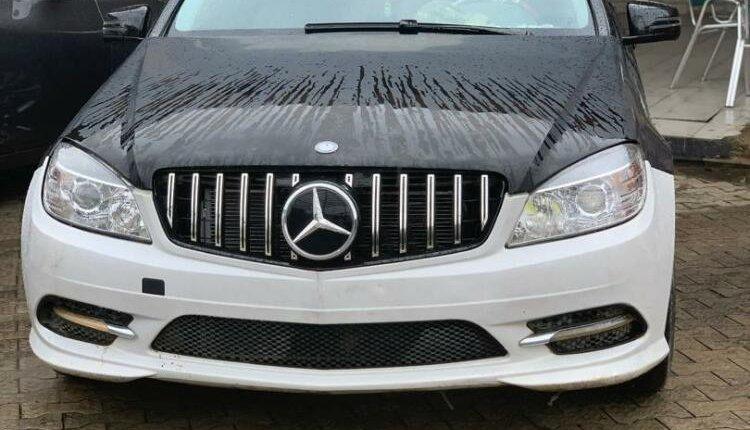 Nigeria Used Mercedes-Benz C300 2009 Model Black-0
