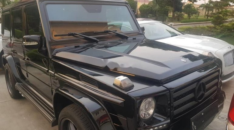 Foreign Used Mercedes-Benz G550 2012 Model Black-6