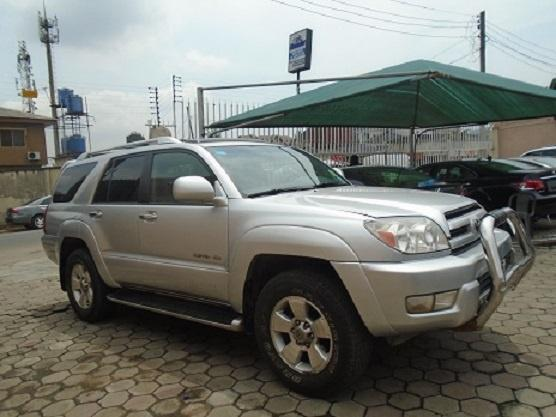 Nigeria Used Toyota 4-Runner 2005 Model Silver-4