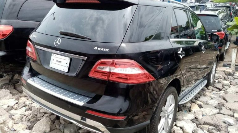 Tokunbo Mercedes-Benz ML350 2013 Model Black-5
