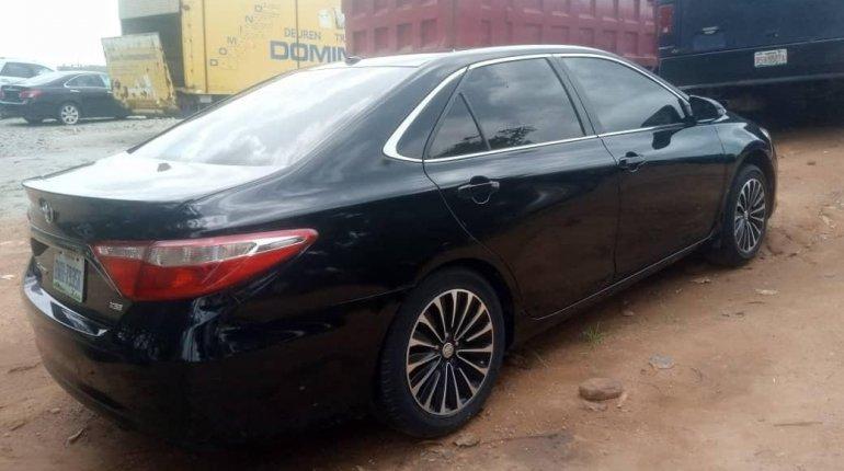 Nigeria Used Toyota Camry 2016 Model Black-2