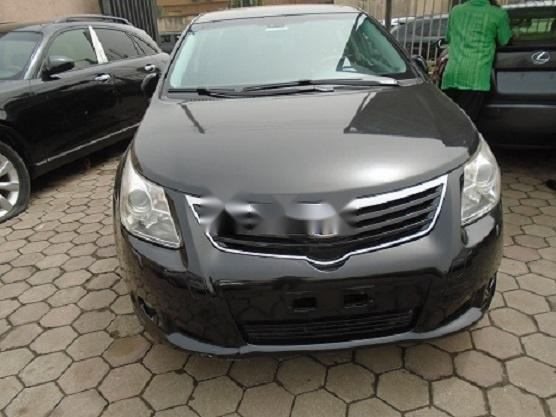 Nigeria Used Toyota Avensis 2012 Model Gray-0