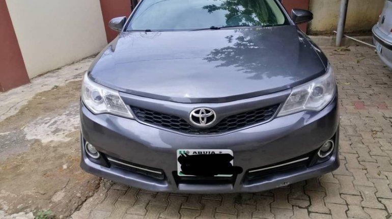 Nigeria Used Toyota Camry 2013 Model Gray-0