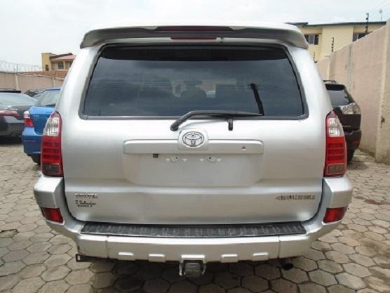 Nigeria Used Toyota 4-Runner 2005 Model Silver-7