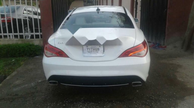 Foreign Used Mercedes-Benz CLA-Class 2014 Model White-3