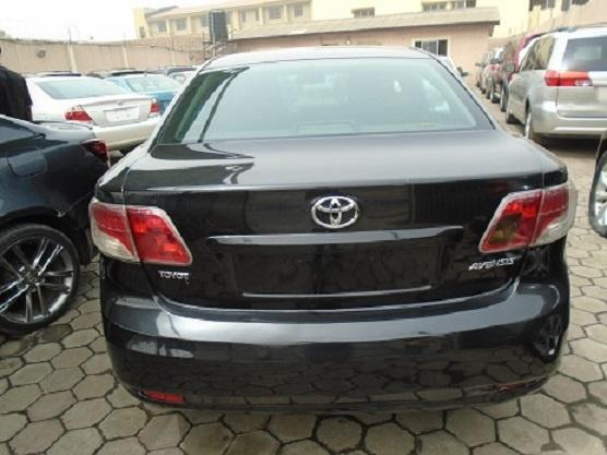 Nigeria Used Toyota Avensis 2012 Model Gray-6