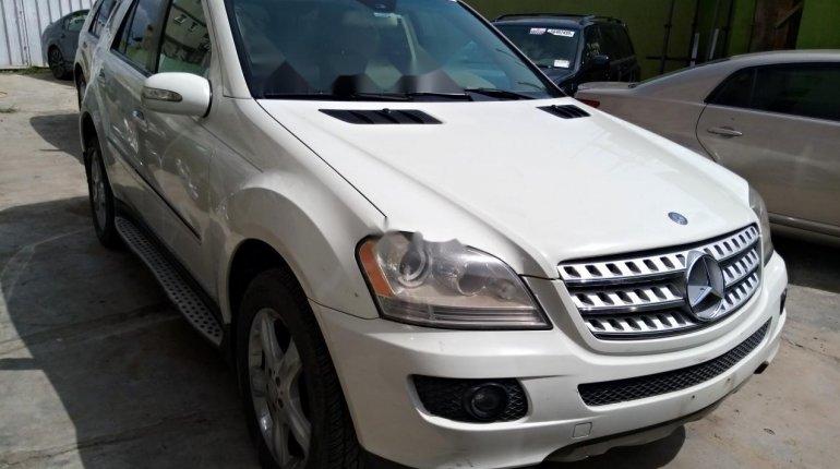 Nigeria Used Mercedes-Benz ML350 2007 Model White-1