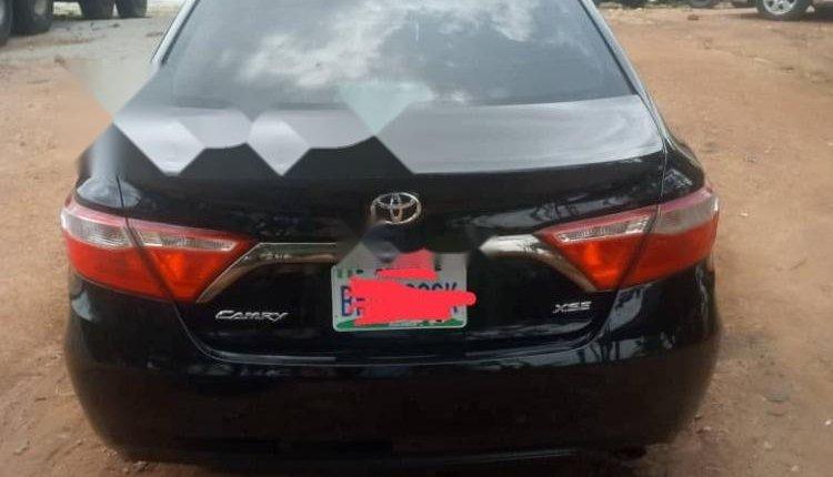 Nigeria Used Toyota Camry 2016 Model Black-1