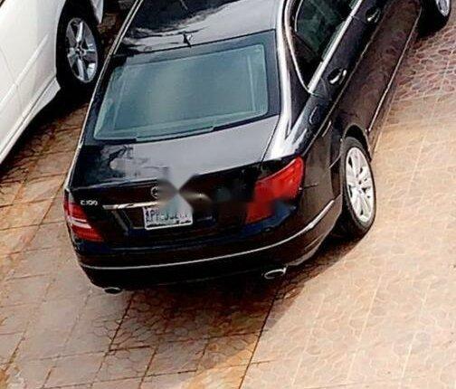 Nigeria Used Mercedes-Benz C300 2009 Model Black-1